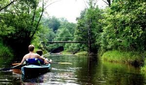 Plaukimas Širvintos upe